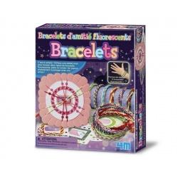 Bracelets d'amitié fluorescents, 4M
