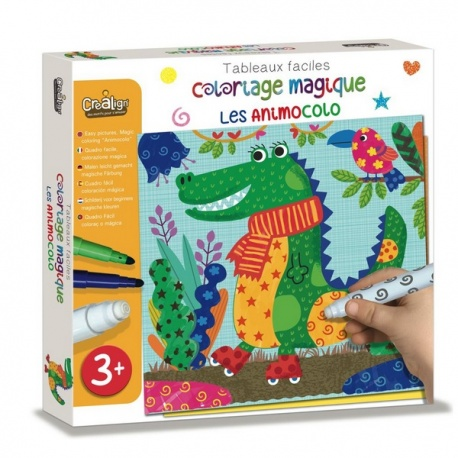 Coloriage magique, Les animocolo, Crealign