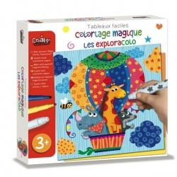 Coloriage magique, Les exploracolo, Crealign