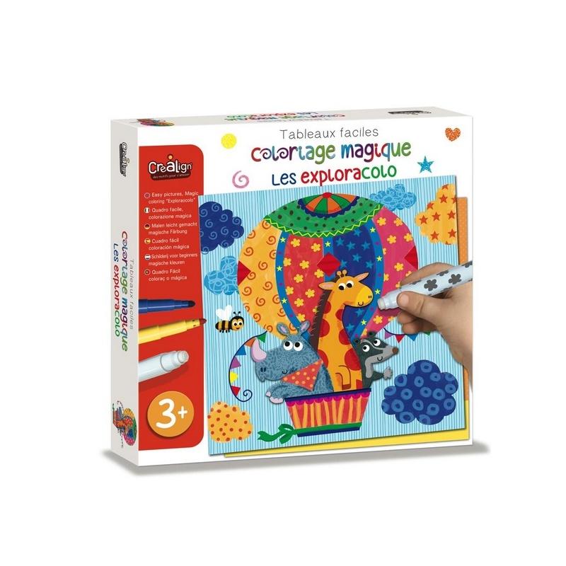 Coloriage Magique Les Exploracolo Crealign