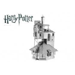 Le Terrier des Weasley, maquette 3D Harry Potter en métal