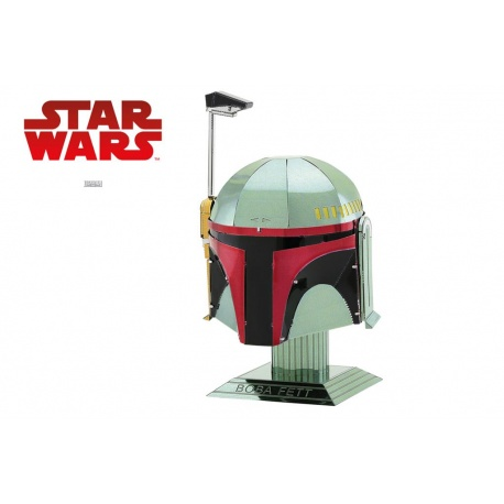 Casque Boba Fett Star Wars, maquette 3D Metal Earth