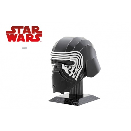 Casque Kylo Ren Star Wars, maquette 3D Metal Earth