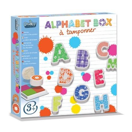 Alphabet Box à tamponner, Crealign