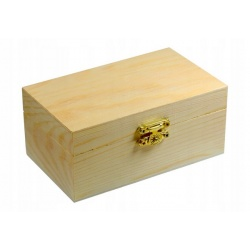 Coffre en bois à décorer - 12,5 cm