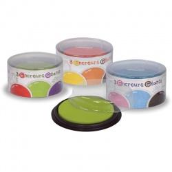 Boîte 3 encreurs géants Créalign , couleurs au choix