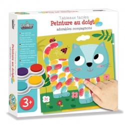 """Peinture au doigt """"Adorables compagnons"""", Crealign"""