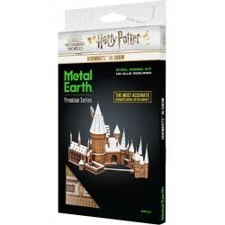 Poudlard sous la neige, maquette 3D Harry Potter en métal