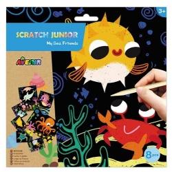 """Scratch junior """"Mes amis de la mer"""", Avenir"""