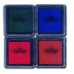 Pack de 4 encreurs petit modèle, Crealign