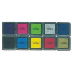 Pack de 10 encreurs petit modèle, Crealign