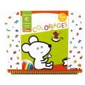"""Cahier de coloriages 3+ """"Animaux"""" Sycomore"""