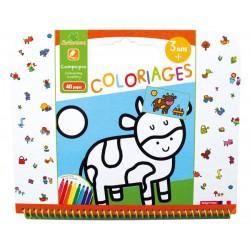 "Cahier de coloriages 3+ ""Campagne"" Sycomore"