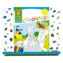 "Cahier de coloriages 5+ ""Princes"" Sycomore"