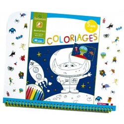 "Cahier de coloriages 5+ ""Monstres"" Sycomore"