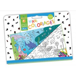 Maxi coloriages Garçon Sycomore