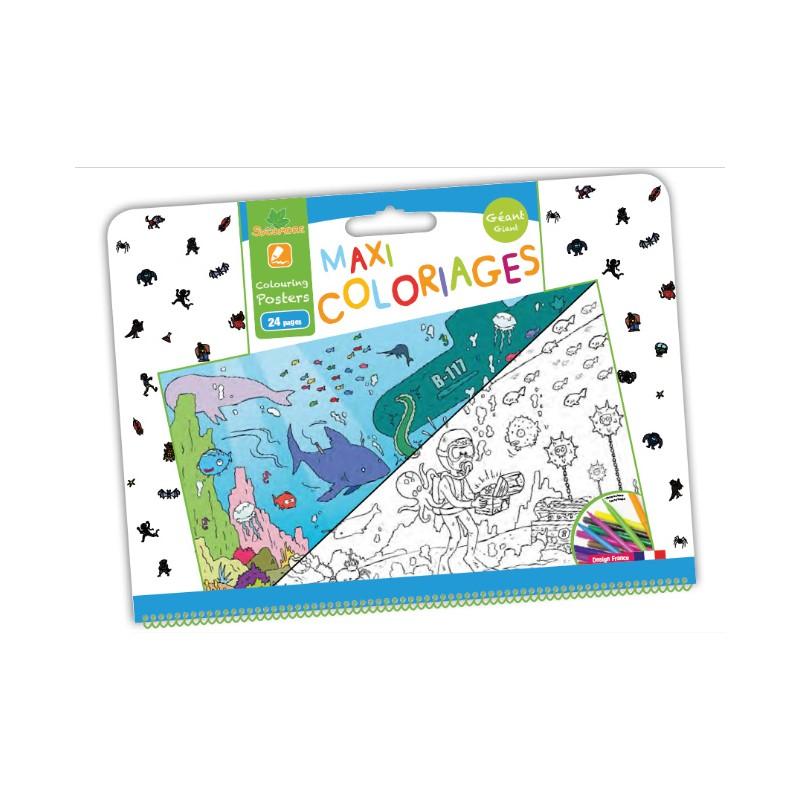 Maxi coloriages gar on sycomore - Maxi coloriage ...