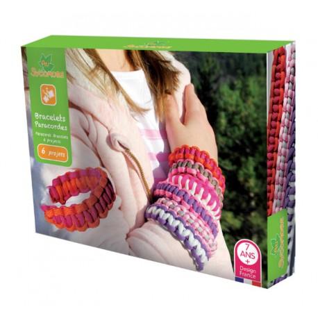 """Bracelets paracordes """"fille"""", Sycomore"""