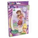 """Mosaïques aux numéros """"Rosélia"""" Disney Fairies, Sticky Mosaics"""