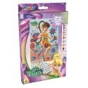 "Mosaïques aux numéros ""Noa"" Disney Fairies, Sticky Mosaics"