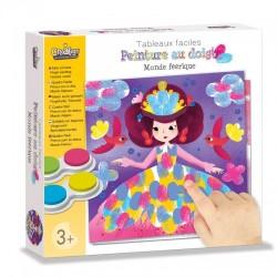 """Peinture au doigt """"Monde féérique"""", Crealign"""