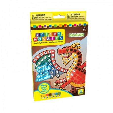"""Mosaïques aux numéros """"Dragon"""", Sticky Mosaics"""