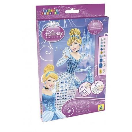 """Mosaïques aux numéros Disney """"Cendrillon"""", Sticky Mosaics"""
