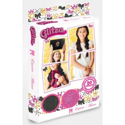 "Tatouages / transferts Glitza ""50 design"" - GLT7610 ""Cutie bow"""
