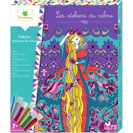 """Paillettes """"Princesses de contes"""" - Les Ateliers du calme"""