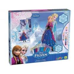 """Mosaïques aux numéros Disney """"Reine des neiges"""", Sticky Mosaics"""