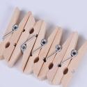 Lots de mini-pinces à linge en bois, différentes quantités