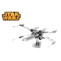 X-Wing Star Fighter, maquette 3D Star Wars en métal