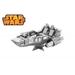 First Order Snowspeeder, maquette 3D Star Wars Ep7 en métal
