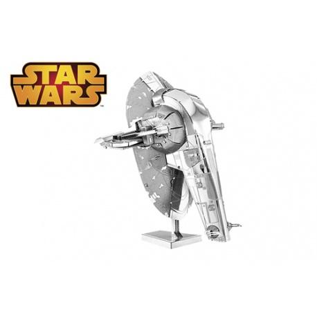Slave I, maquette 3D Star Wars en métal