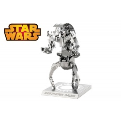 Destroyer Droid, maquette 3D Star Wars en métal