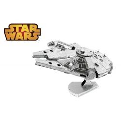 Millennium Falcon, maquette 3D Star Wars en métal