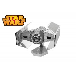 Darth Vader's Tie Fighter, maquette 3D Star Wars en métal