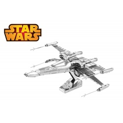 Poe Dameron's X-Wing, maquette 3D Star Wars Ep7 en métal