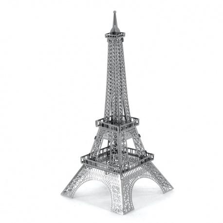 Tour Eiffel, maquette 3D en métal