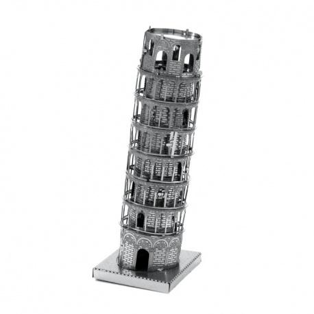 Tour de Pise, maquette 3D en métal