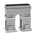 Arc de triomphe, maquette 3D en métal