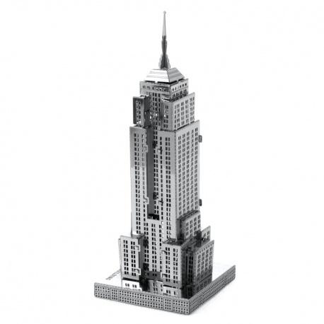Empire State building, maquette 3D en métal