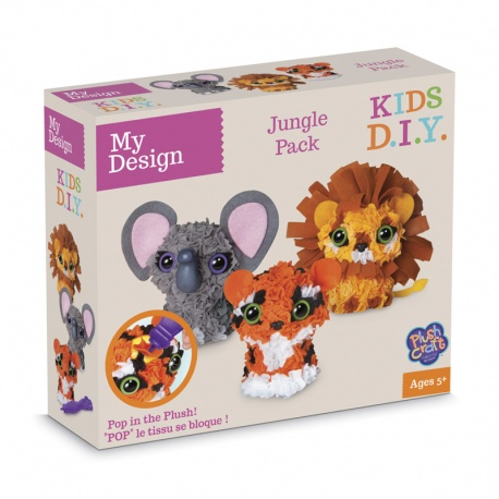 My Design Pack Jungle 3D, Plush Craft
