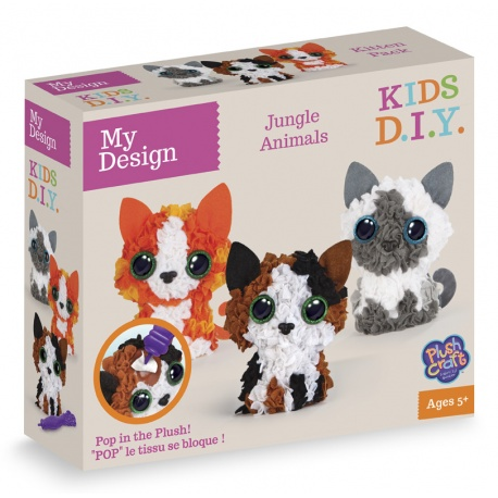 My Design Pack Chats 3D, Plush Craft