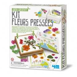 Kit fleurs pressées, 4M