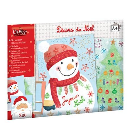 Kit support Décors de Noël, Crealign
