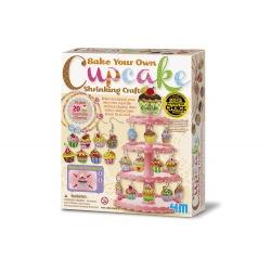 Charms Cupcake en plastique fou, 4M