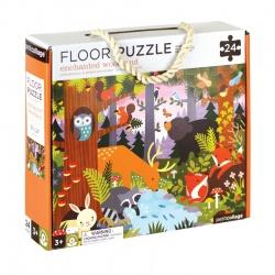 """Puzzle de sol """"Dans la forêt"""", Petit collage"""
