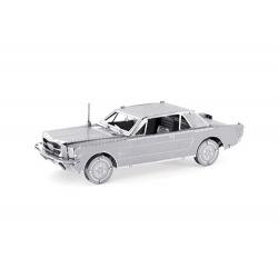 Ford Mustang 1965, maquette 3D en métal
