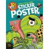 "Stickers 3D et poster ""Alien attack"""